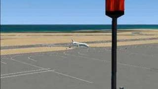 MD-83 VIKING AIRLINES at Nikos Kazantzakis. Landing FSX