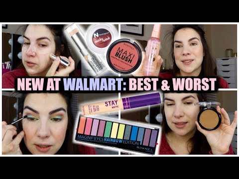 NEW MAKEUP GALORE | Walmart Mega Haul & Try-On