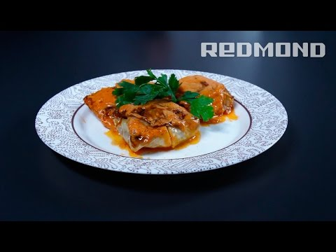 Голубцы рецепт с фото в мультиварке редмонд пошаговый рецепт с фото