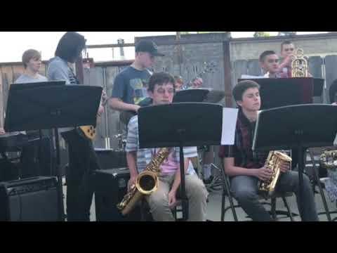 Grants Pass HS Jazz Band