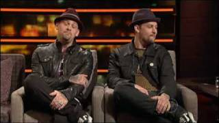 Benji and Joel Madden interview on ROVE (Australia) 2009