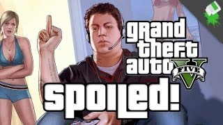 GTA 5 SPOILED GAMES! Characters, Story, and More with Adam Sessler, Jeff Gerstmann, & Chris Plante
