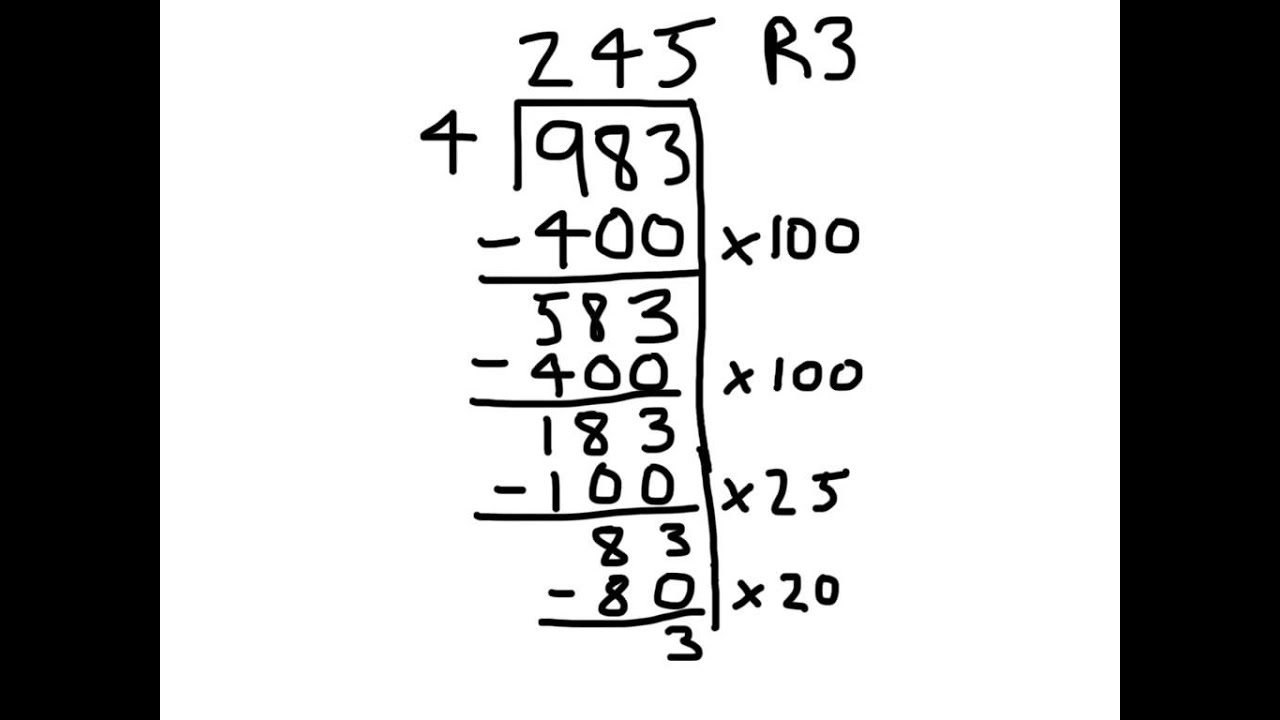 Partial Quotient Strategy For Division Ry