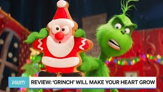 'The Grinch' Review: Green Grouch Will Make Your Heart Grow
