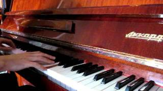 """Girl and Dolphin"" by E.Artemyev (main theme piano cover)"