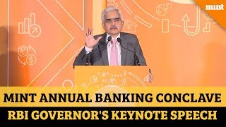 Prudence doesn't mean stifling lending: RBI Governor at Mint Banking Conclave