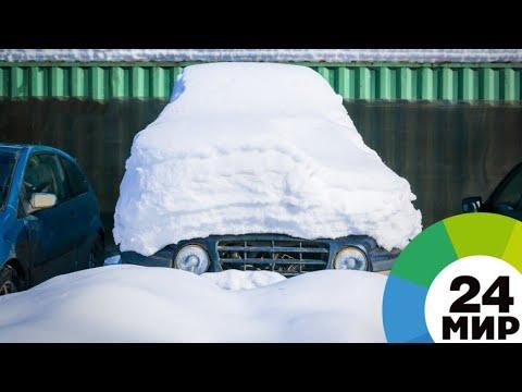 Мороз кусает нос: в Россию пришли аномальные холода, но многие этому рады - МИР 24