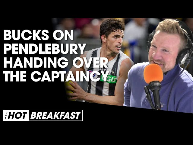 Nathan Buckley On Scott Pendlebury Handing Over The Captaincy | The Hot Breakfast | Triple M