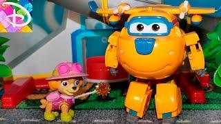 Щенячий патруль новые серии Скай ПРЕВРАЩЕНИЕ Развивающие мультики про игрушки для детей Paw Patrol