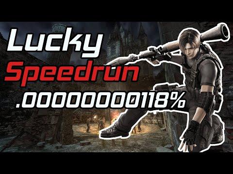 How Lucky is the Resident evil 4 World Record Speedrun