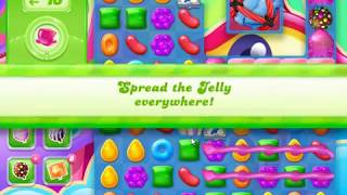 Candy Crush Jelly Saga Level 1227 (Have bugs, cheat player's boosters)