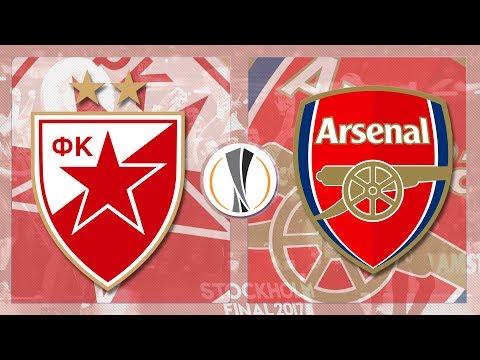 Match Day LIVE 2017/18 // Redstar Belgrade v Arsenal - Europa League
