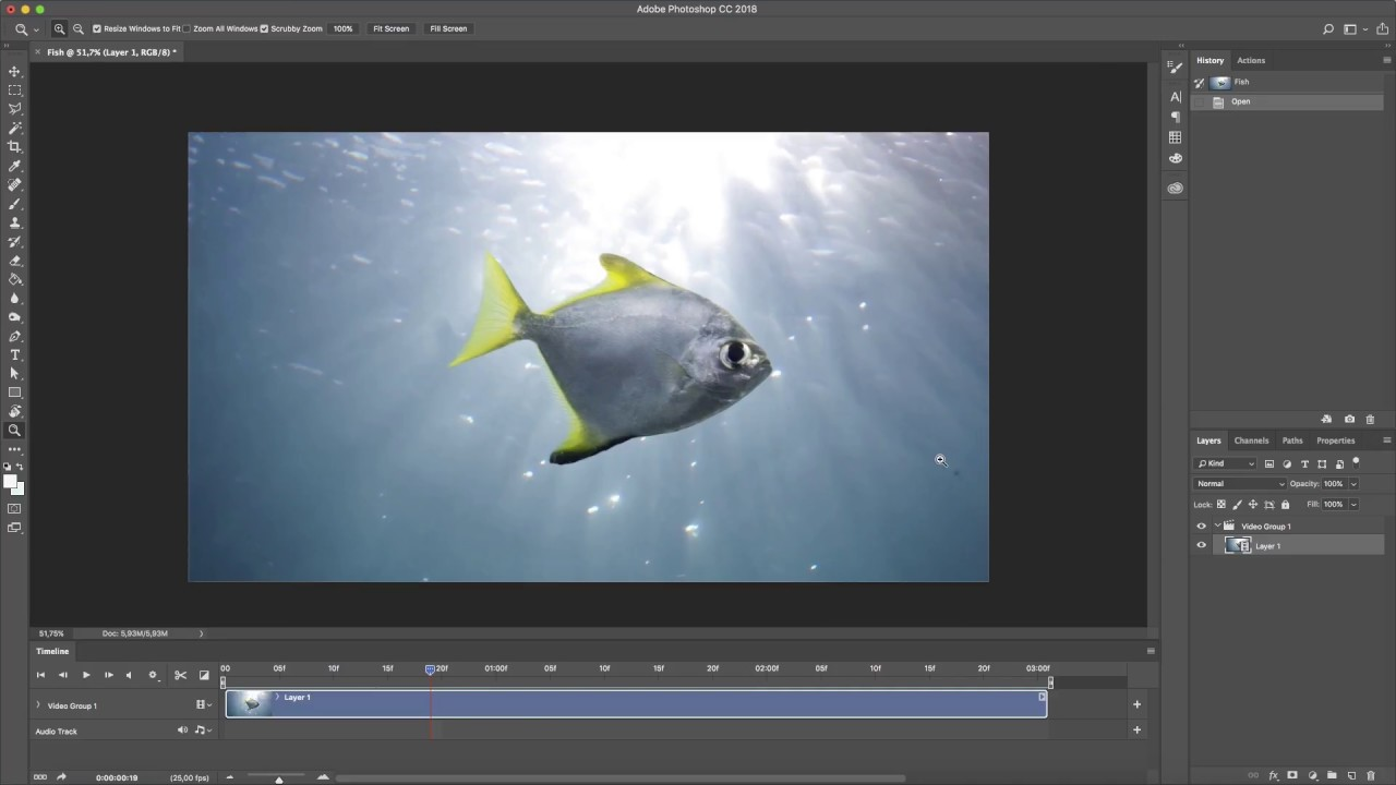 How to Edit Videos in Photoshop as If They Were Still Images - In