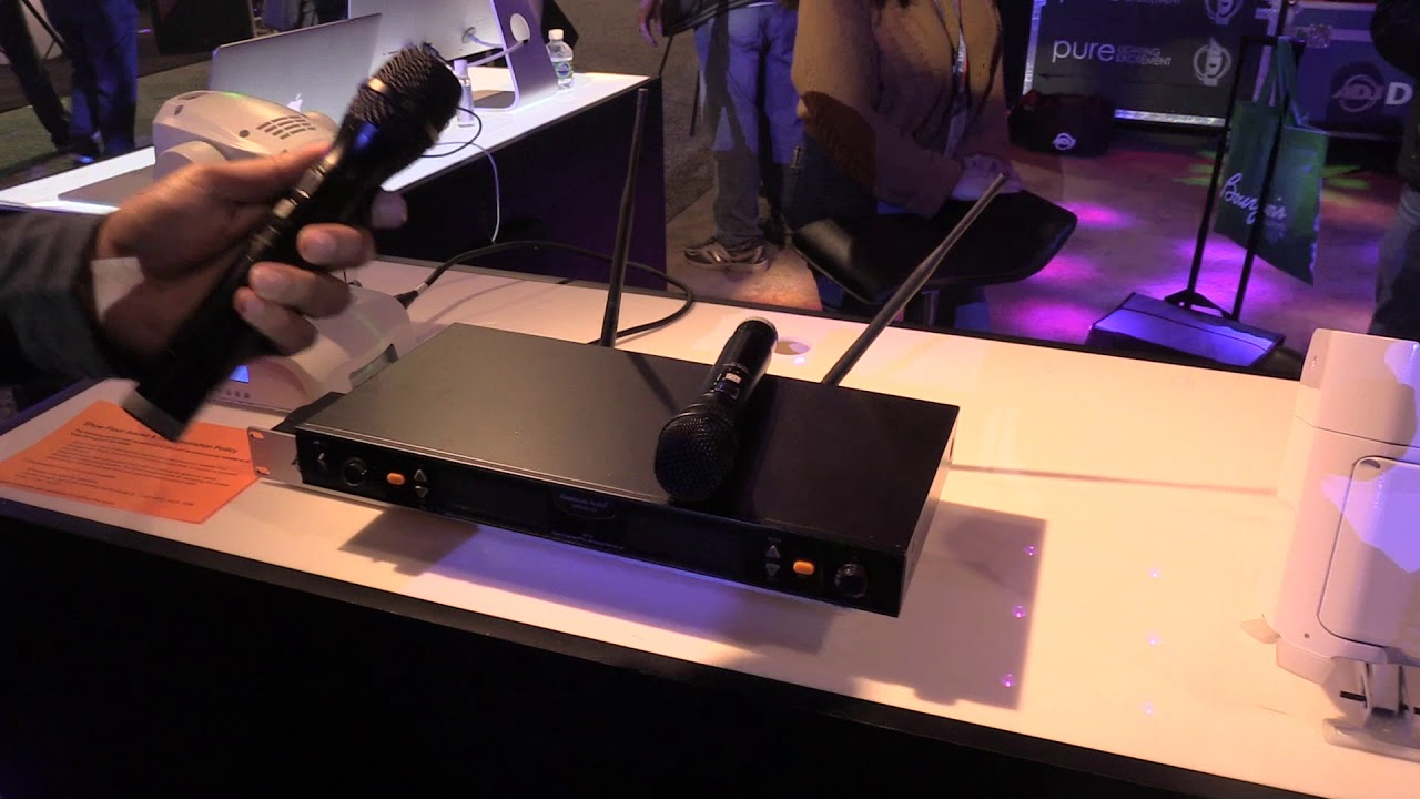 american audio wm 219 wireless microphone system overview at namm 2018 youtube. Black Bedroom Furniture Sets. Home Design Ideas