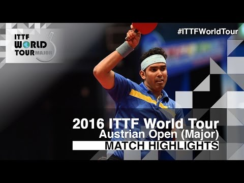 2016 Austrian Open Highlights: Chen Chien-An vs Achanta Sharath Kamal (R16)
