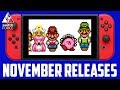 All Nintendo Switch Games November 2017 - Release Dates + What To Buy