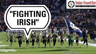 Why the French-Founded Notre Dame School's Athletic Teams are the Fighting Irish thumbnail