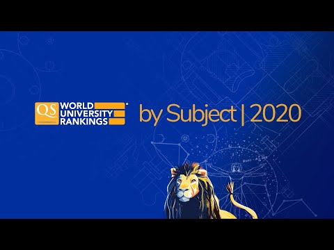 Meet The Top Universities By Subject | QS World University Rankings By Subject 2020
