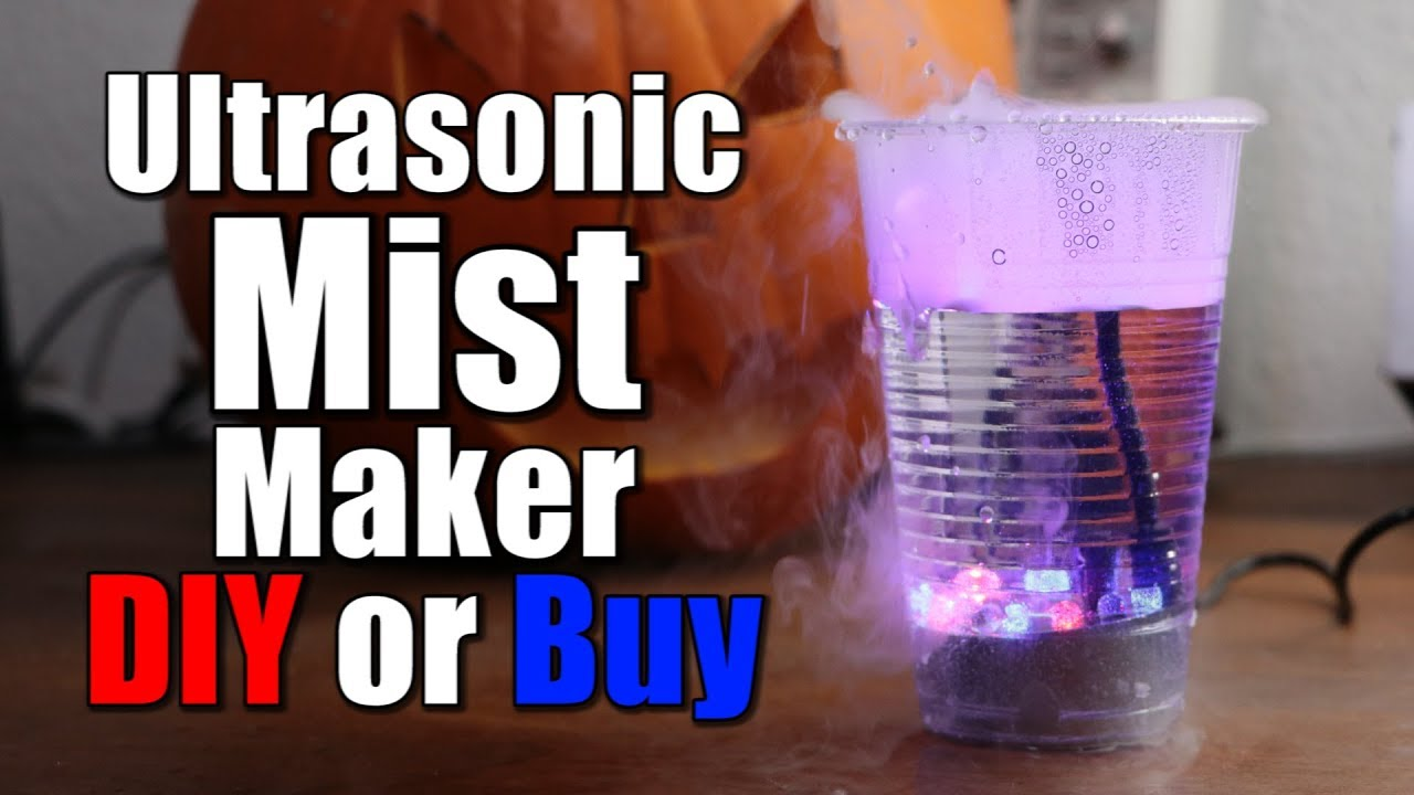 Ultrasonic Mist Maker    DIY or Buy