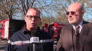 Saint-Laurent-de-la-Prée : les pompiers étouffent des fumées toxiques émanant d'une remorque