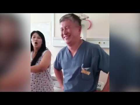 Танец в роддоме