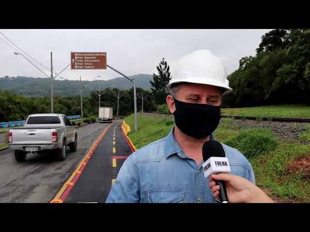 Irati inicia projeto de 30 km de ciclovia