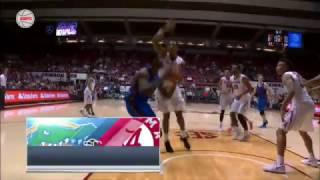 Florida vs Alabama Basketball Highlights 1-10-17