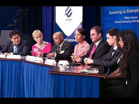 The White House Global Entrepreneurs Event with Shark Tank