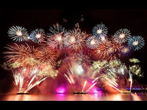 Qatar National Day 2017 Amazing Fire Works Live Updates #OurQatar