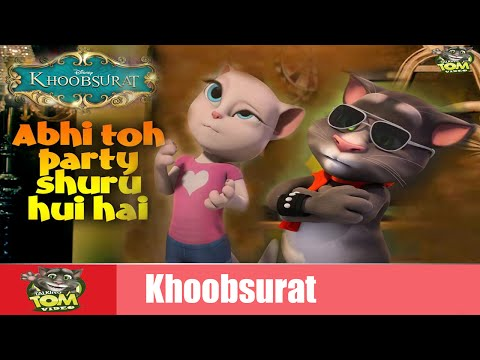 Abhi Toh Party Shuru Hui Hai Song | Khoobsurat | Full HD Video | Talking Tom Video
