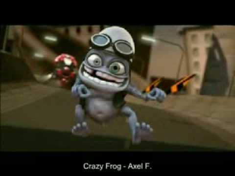 Crazy Frog ...pam Pam Pam Pa Pa Pam Pam...