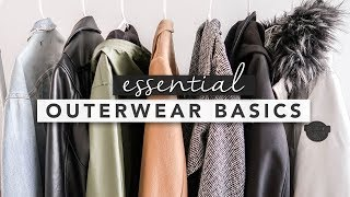 Outerwear Basics You Need in Your Closet for a Capsule Wardrobe | by Erin Elizabeth