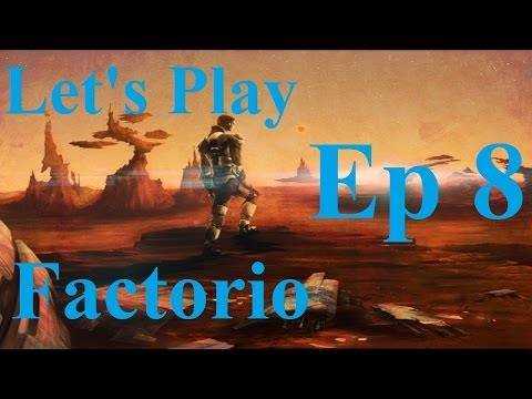 8. Let's Play Factorio - Piping