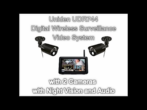 Uniden Guardian Wireless Video Surveillance Unboxing And