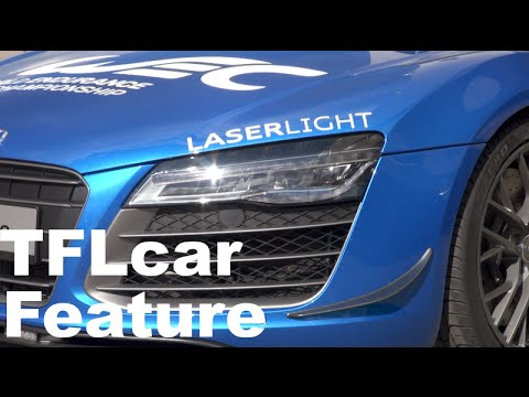 2015 Audi R8 LMX Laserlight Headlights Revealed: Yes, Lasers for Lights
