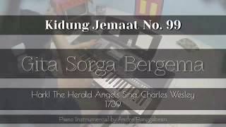 Download lagu Gita Sorga Bergema Kidung Jemaat No 99 Piano Instrumental by Andre Panggabean MP3