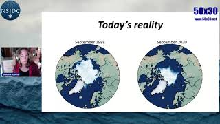 Arctic Sea Ice and Overshoot - Julienne Stroeve - 50x30 Launch