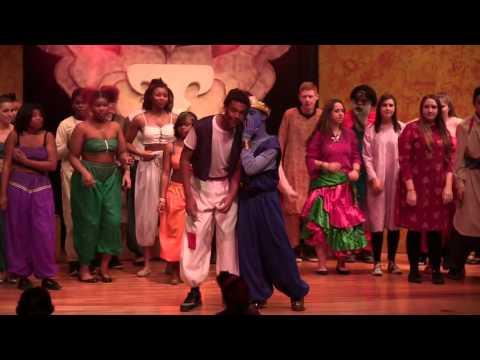 The Aladdin Musical  Genie Friend Like Me