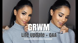 GRWM: Life Update, Boyfriend, Trying New Makeup + MORE