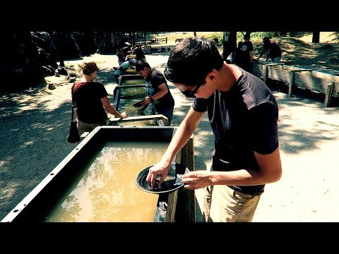PANNING FOR GOLD AND VISITING JAMESTOWN!