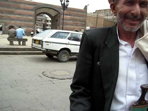 Shlomo in Bab al Yaman, Sanaa