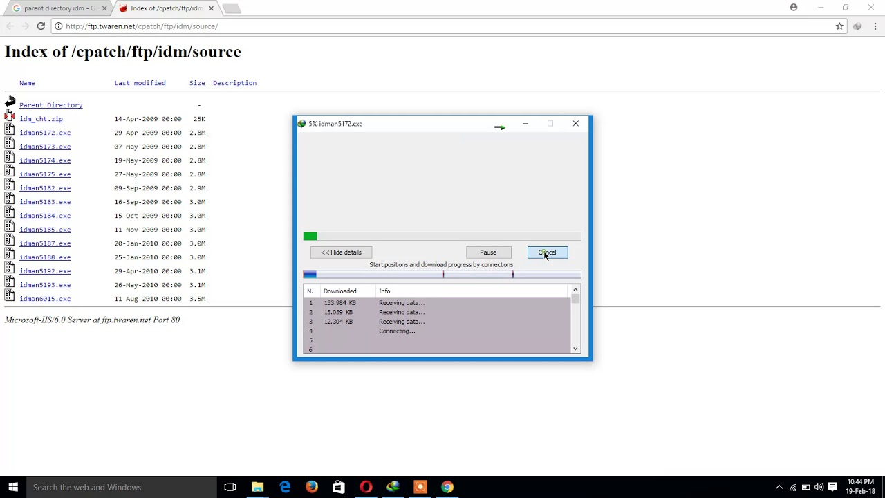 Download anything using parent directory like movies, games,software etc