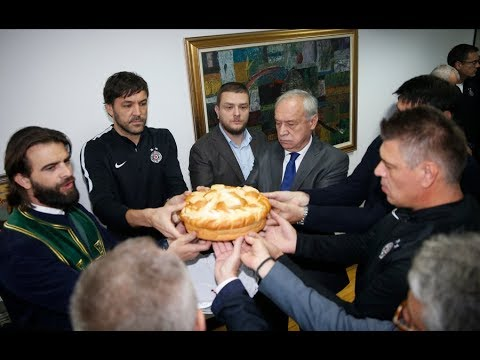 Obležavanje Krsne Slave FK Partizan