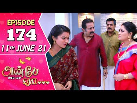 Anbe Vaa Serial | Episode 174 | 11th June 2021 | Virat | Delna Davis | Saregama TV Shows Tamil