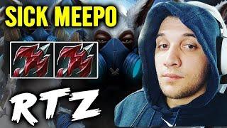 Sick Meepo RTZ Dragon Lance Build Dota 2 Gamplay 7.00