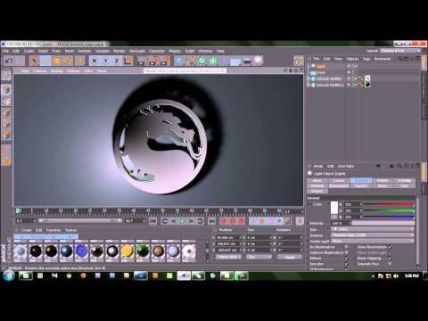 Tutorial Membuat Logo 3D dengan Cinema 4D (Bahasa Indonesia)