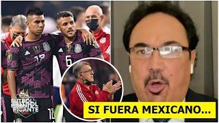 "HUGO: ""A MÍ ME QUEMARON. El TATA FRACASÓ PEOR"". México cayó ante Estados Unidos."