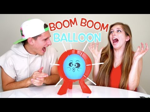 CRAZY BOOM BOOM BALLOON CHALLENGE!