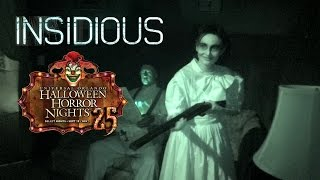 Insidious Haunted House Maze Walk Through Halloween Horror Nights 25 Universal Orlando 2015