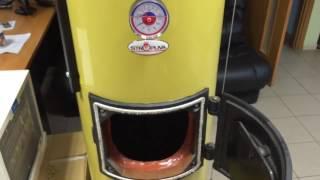 Твердотопливный котел STROPUVA (Стропува) длительного горения. Видео обзор